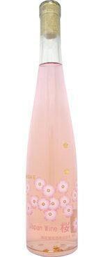 【蒼龍葡萄酒】ジャパンワイン桜 375ml