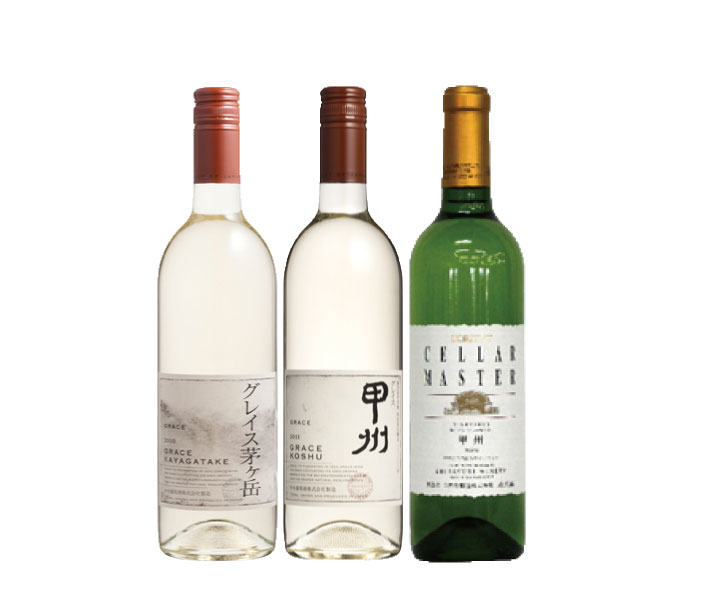 【ワインコンクール金賞受賞】県産白ワイン3本セット!
