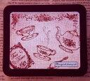 マーガレットスタンプセット はんこ 0831-012 ティーポット カップ スプーン 薔薇 TeaTime 花 afternoon  こどものかお☆KODOMO NO K…