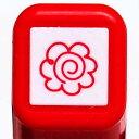 スケジュール浸透印スタンプ はんこ 0556-512 はなまる 花丸 レッド 赤 こどものかお KODOMO NO KAO (メール便可!!)
