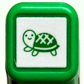 スケジュール浸透印スタンプ はんこ 0556-528 カメ かめ タートル 亀 グリーン 緑 こどものかお KODOMO NO KAO (メール便可!!)