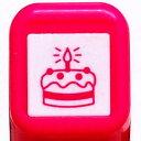 スケジュール浸透印スタンプ はんこ 0556-554 ケーキ 誕生日 ローソク バースデーケ...