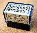 クラシックナンバースタンプ はんこ ClassicNumberStamp ゴシック ゴシック体 00030-002 数字 文字 記号 番号 メッセージ ¥ 活字 クラ…