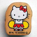 ハローキティウッディスタンプ はんこ HelloKitty woody stamp F:2405-006 キティちゃん 応援 チア チアリーディング ボンボン SANRIO…
