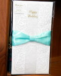 祝儀袋blancpur(ブランピュール)金封ベル[キ-BP10]HappyWeddingリボングリーン袋結婚式お祝いウエディングギフトプレゼントおしゃれマルアイMARUAI(クロネコDM便可!!)