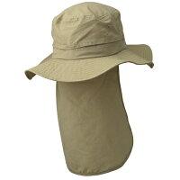 オンヨネ【蚊・害虫対策】レディスハットinsectshield登山・ハイキング・ウォーキング・ガーデニングに防虫素材インセクトシールドで虫さされ対策!帽子/ハット/UV対策/防虫素材/首すじ焼け対策/あご紐つき