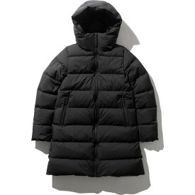 THE NORTH FACEノースフェイスウィンドストッパーダウンシェルコート(レディース)WS Down Shell Coat黒サイズL/NDW91964 軽量ダウンジャケット 暖か ロングコート