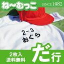 フロッキーネーム特大◆だ行◆ 2枚入 【日本製】 ワッペン ひらがな 名前シール ゼッケン 体操着