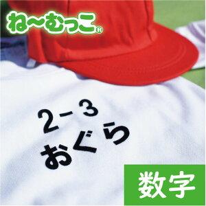フロッキーネーム特大◆数字・...