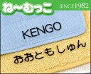 フロッキーネーム ラージ30枚入 【日本製】 アイロンで簡単お名前書き
