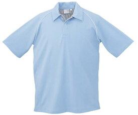 26444 春夏用半袖ポロシャツ (クロダルマ【KURODARUMA】) 【メーカーカタログより50%OFF以上】 M〜5L(メンズサイズ)7〜11号(レディースサイズ) 表:ポリエステル100%裏:ポリエステル100%(メッシュ)(在庫限り)