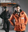 バートル 防寒着 人気 7210 防寒ジャケット(大型フード付) BURTLE アウトドア 釣り 山 作業用防寒 軽量 メンズ レデ…
