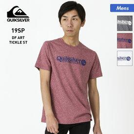 全品割引券配布中 アウトレット メンズ 半袖 Tシャツ ロゴ 男性用 QUICKSILVER クイックシルバー QST191050