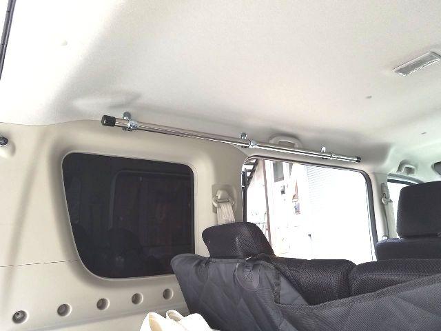 エブリイ DA17W・DA17V サイドバー 車内ラック