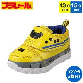 プラレール ベビースニーカー PLARAIL トミカ 新幹線 ドクターイエロー 子供靴 男の子 ベビーシューズ キッズスニーカー プラレール靴 16107