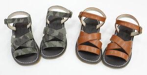 セール40%OFFPeep ZOOM(ズーム)♪『ストラップサンダル』♪ (カモフラ キャメル) 子供用靴 (zoom-1625) SALE