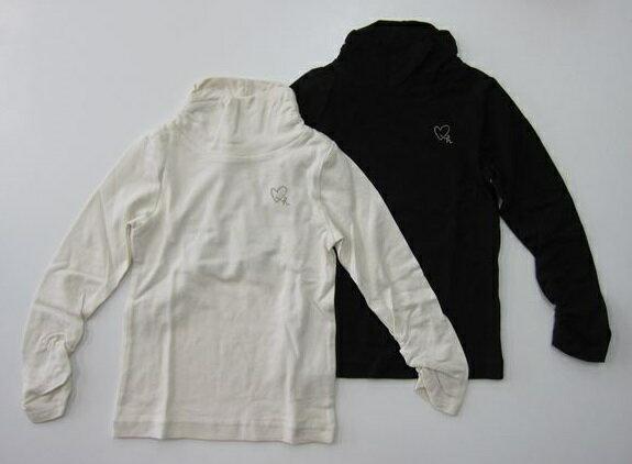 セール50%OFF (メール便可)hakka kids(ハッカキッズ)ハイネック長袖Tシャツ (100cm 110cm 120cm 130cm) (秋冬物) (02952846) SALE