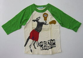 セール40%OFF (メール便可)【hakka kids】[ハッカキッズ] ラグラン7分袖Tシャツ (120cm) (男の子) [ラグランTシャツ] (02951832)SALE