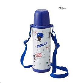 【ミキハウス】【ダブルビー】【DOUBLE_B】コミック風ステンレスボトル(水筒)(500ml)[MIKIHOUSE][ステンレス魔法瓶(まほうびん)][ランチグッズ](65-4048-263)