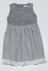 セール30%OFF【BeBe】[ベベ]【PATACHOU】[パタシュー] ラメニットワンピース (1541-670041)(90cm,100cm)(日本製)[べべの子供服]SALE