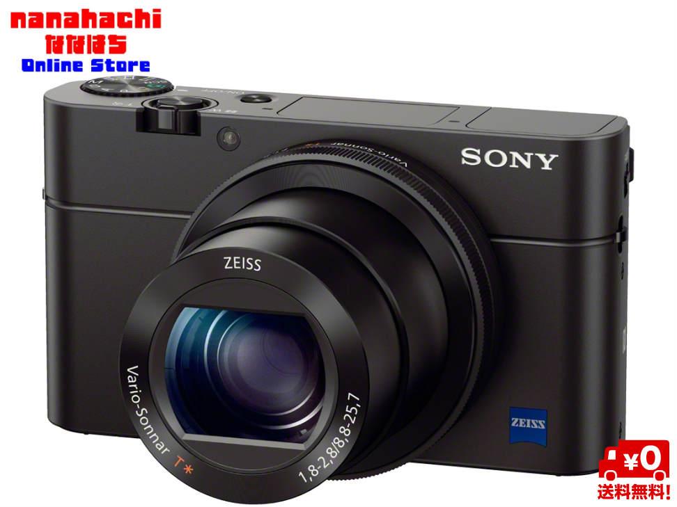 デジタルカメラ デジカメソニー SONY サイバーショット DSC-RX100M3 Cyber-Shot RX DSC-RX100M3 コンパクトボディはそのままに、新開発24mmの明るい大口径レンズと高精細有機ELファインダーを搭載。大型1.0型センサー【送料無料・北海道・沖縄配送不可】