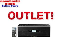 【新品未開封品】JVC CDポータブルシステム RD-W1-B [ブラック] CD、ラジオ、USB機器、Bluetooth機器などに対応したCDポータブルシステム【送料無料・北海道・沖縄県を除く】