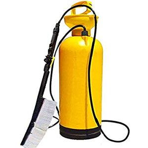 ポンプ式 洗浄機 ポータブルタイプ 8Lの大容量 2.8mのロングホース 2種類のノズル切り替え TEC-PONSEND 噴射 噴霧 消毒 洗剤 農薬