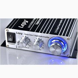 【送料無料】】デジタル高音質パワーアンプ 2chステレオ20W+20W  Lepy lepai デジタルアンプ カーアンプ アダプター付属 ORG-LP-2024A