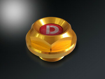 D-SPORT(Dスポーツ) オイルフィラーキャップTyep Mサイズ 【ダイハツ車汎用】 品番:12180-C011 (12180C011)