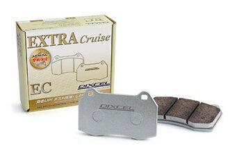 DIXCEL ディクセル エクストラクルーズタイプ フロント左右セット マツダ MPV LY3P 06/02〜 [ブレーキパッド] EC351284