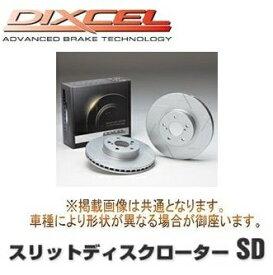 DIXCEL ディクセル スリットディスクローターSD 1台分前後セット 三菱 パジェロ V25C 94/7〜96/2 SD3418084S / SD3458082S
