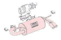FUJITSUBO(フジツボ) ★ Legalis R[レガリス] MR2 E-AW11 1986/08-1989/10 [マフラー] 760-23512