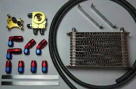 HPI エンジンオイルクーラーキット 汎用 SR20汎用 16段 [オイルクーラー] HPOC-SR16SET