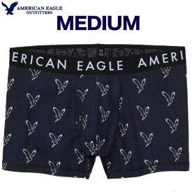 アメリカンイーグル パンツ メンズ パンツ ブリーフ 下着 トランクス アンダーウエア 上質 ストレッチ リラックスフィット イーグル柄 アメカジ 【Mサイズ】ネイビー メール便 送料無料 American Eagle アメリカンイーグル 正規品