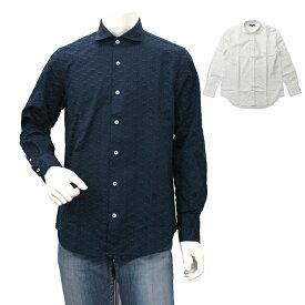 ジーステージ G-STAGE 総柄刺繍長袖シャツ 490601 メンズ