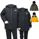 ノースフェイス THE NORTH FACE ストームピークトリクライメイトジャケット Stormpeak Triclimate Jacket 3WAY防水ジャケット NS62003 ユニセックス 国内正規品