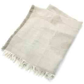 マリメッコ marimekko ウニッコ Co/Li ブランケット Unikko Co/Li Blanket 070516 181 ホワイト ベージュ
