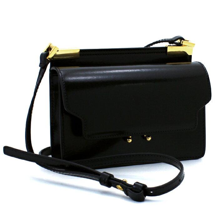 マルニ MARNI TRUNK BAG ショルダーバッグ SBMPZ13U07 ブラック