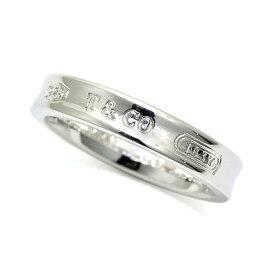 ティファニー TIFFANY 指輪 1837 ナローリング 指輪 シルバー925