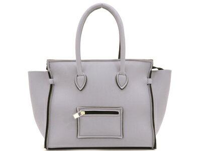 セーブマイバッグ SAVE MY BAG PORTOFINO ハンドバッグ 2129N VAPORE ブルーグレー 【あす楽対応】