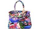 【衝撃特価セール】 セーブマイバッグ SAVE MY BAG MISS ハンドバッグ 10204N GRAFFITI マルチカラー 【あす楽対応】