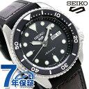 セイコー 5スポーツ 日本製 自動巻き 流通限定モデル メンズ 腕時計 SBSA027 Seiko 5 Sports スペシャリスト ブラック×ダークブラウン 時計【あす楽対応】