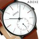 アデクス ADEXE ユニセックス スモールセコンド 41mm 1868E-03 腕時計 グランデ