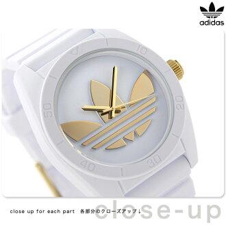 Adidas originals Santiago quartz watch ADH2917 adidas white X gold