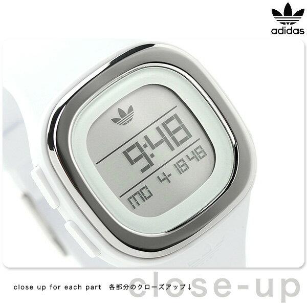 アディダス オリジナルス デンバー ユニセックス 腕時計 ADH3032 adidas ホワイト 時計