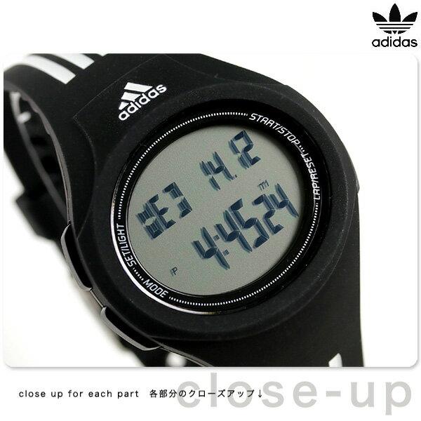 アディダス ウラハ ランニングウォッチ 腕時計 ADP3174 adidas ブラック 時計