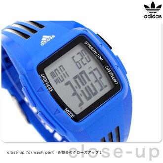 adidasupafomansudeyuramomiddo手錶ADP6096 adidas藍色