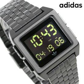 【今なら1,500円割引クーポンにポイント最大41倍】 アディダス オリジナルス デジタル メンズ レディース 腕時計 Z01001-00 adidas アーカイブ_M1 オールブラック【あす楽対応】