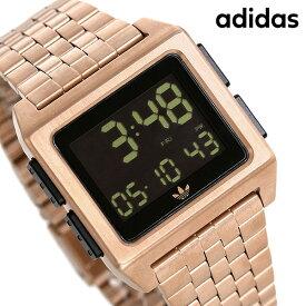 【今ならポイント最大41倍】 アディダス オリジナルス 時計 デジタル メンズ レディース 腕時計 Z011098-00 adidas アーカイブ_M1 ブラック【あす楽対応】