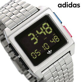 【今ならポイント最大41倍】 アディダス オリジナルス 時計 デジタル メンズ レディース 腕時計 Z012924-00 adidas アーカイブ_M1 ブラック【あす楽対応】